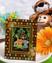 Jungle Critters Monkey Design Photo Frame / Place Card Holder